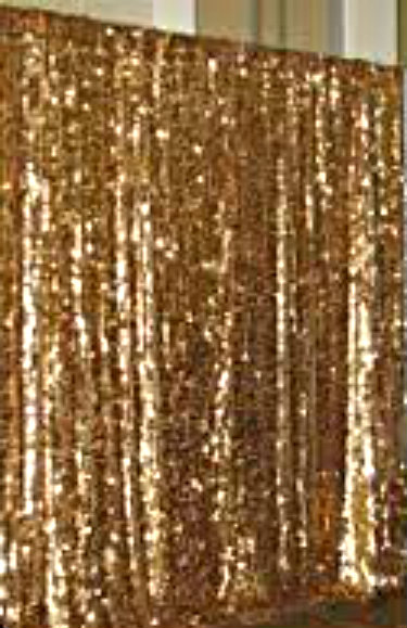 Home / Backdrops / Dark Gold Sequin Curtains