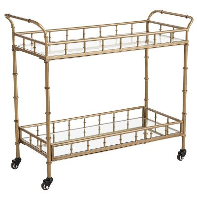 Gold Bar Cart for rent