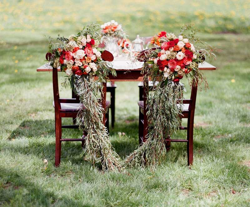 flowers used for wedding decor in Victoria BC