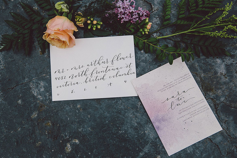 Details of celestial themed beach wedding styled by Party Mood.