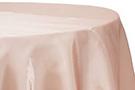"Pink Blush ""Lamour"" Oblong Tablecloth wedding decor rental item."